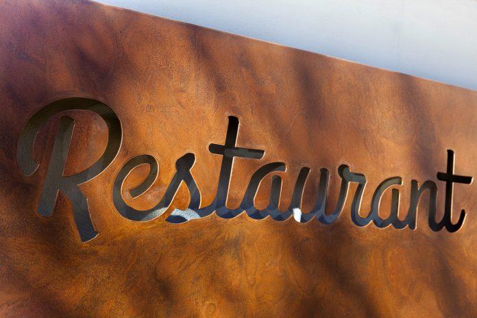 Restaurant Mässingsskyltar skyltar   Bizbay