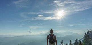 vandring kroatien - kvinna vandring